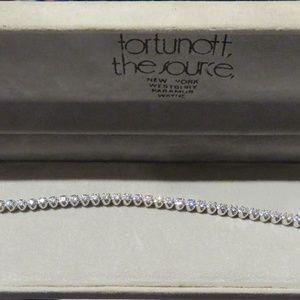 Jewelry - $4400 RARE 14KT FORTUNOFF DIAMOND TENNIS BRACELET